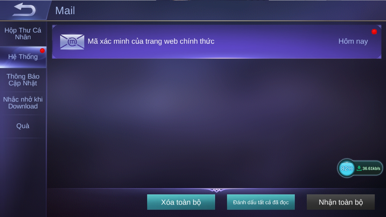 nhap code Mobile Legends
