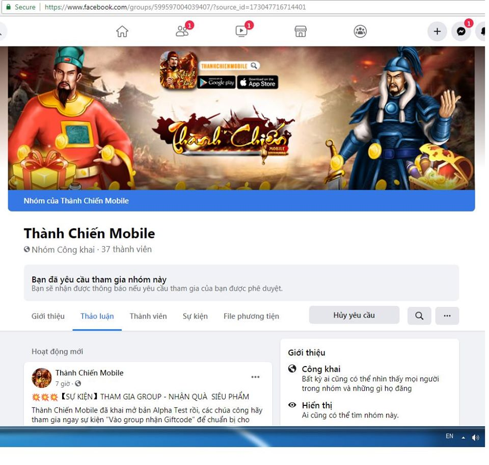 code thanh chien mobile